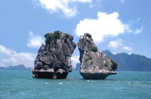 The symbol of Halong